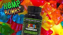 Hemp Bombs Review - 15mg Gummies & 1,000mg oil drops (CBD)