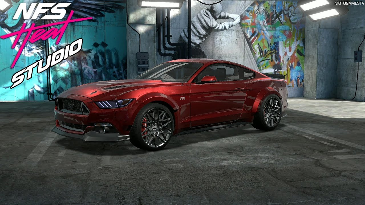 Nfs Heat Studio Ford Mustang Gt Customization Youtube