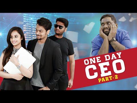 One Day CEO Part 2 | Shanmukh Jaswanth | Viva Harsha | Sheetal Gauthaman