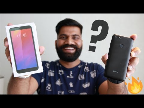 Lenovo A5 Unboxing & First Look - Budget Phone 🔥🔥🔥
