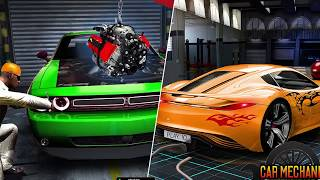 Car Mechanic Auto Garage Workshop games