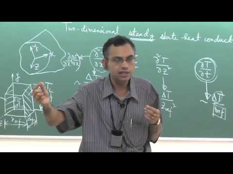 Lecture 13: Two-dimensional Steady State Heat Conduction