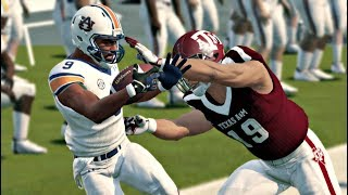 Auburn Tigers vs Texas A&M Aggies – NCAA Football 14 (2019 Updated Rosters) NCAA 9/21/2019