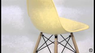Dsw Charles Eames Style Cream Dining Chair