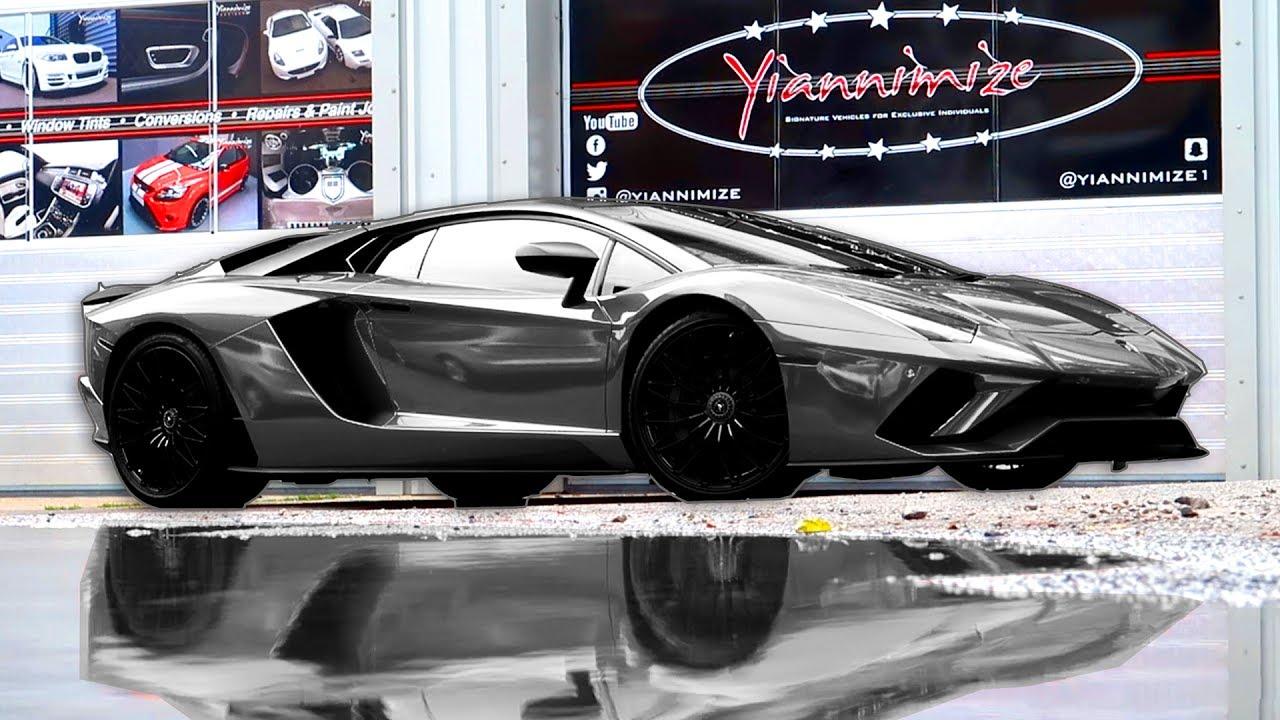 Yianni S New Lamborghini Aventador S Wrapped