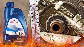 Lux 10 Jak skutecznie olej chroni silnik? 100°C
