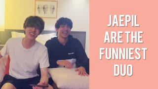 day6 jae and wonpil's q\u0026a live but it's just them making each other laugh for 5 minutes straight