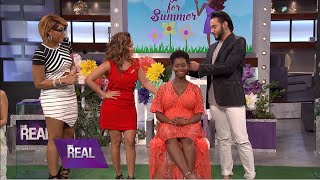 SheaMoisture on the THE REAL in 'Styling for Summer'