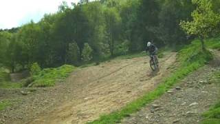 Cwmcarn Forest Drive Downhill