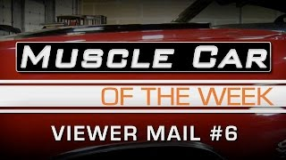 Muscle Car Of The Week Video #158: Viewer Mail, Smoking Cars, Dog Dish Caps, and More