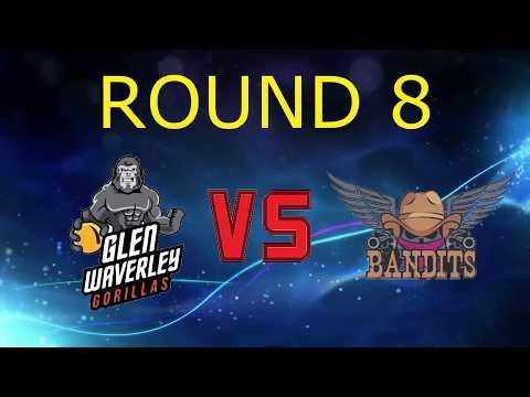 2017 Victorian Dodgeball League Round 8: Glenwaverley Gorillas vs Blackrock Bandits