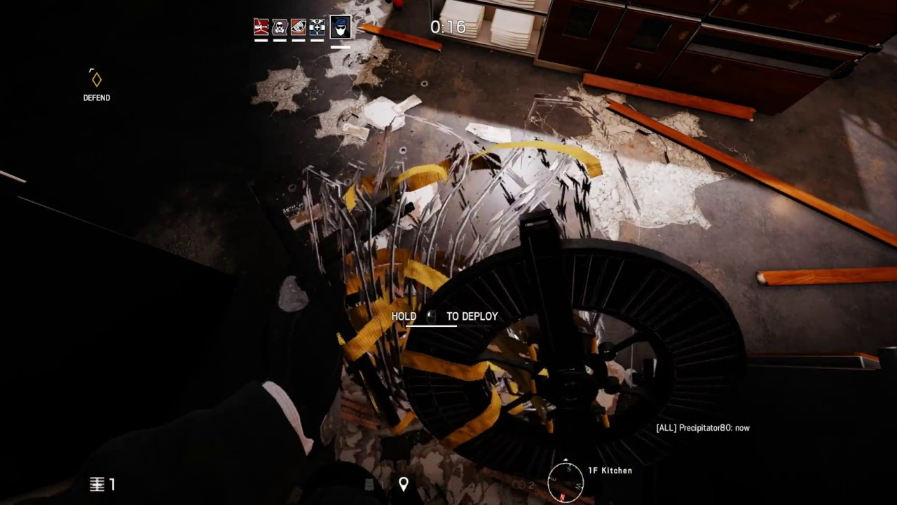 how to use the barbed wire in rainbow six siege