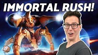 28 PROBE IMMORTAL RUSH! (2-game ZvP)