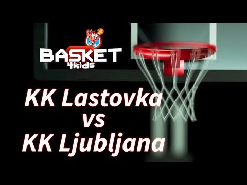 BASKET 4 KIDS   KK Ljubljana - KK Lastovka   Basket4Kids Domžale