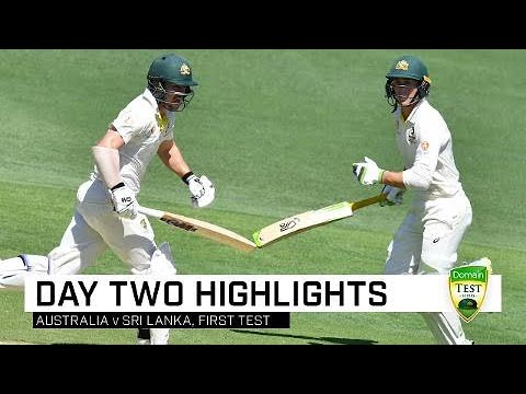 Aussies take control at the Gabba | First Domain Test Mp3