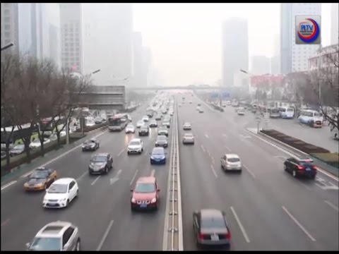 Air pollution an unresolved issue in China.