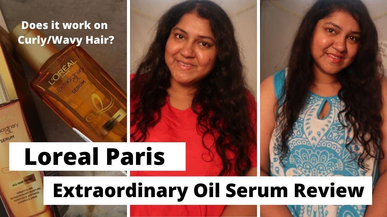 Loreal Paris Extraordinary Oil Serum Review | Frizz Control & Breakage Free Hair | Priyanka Boppana