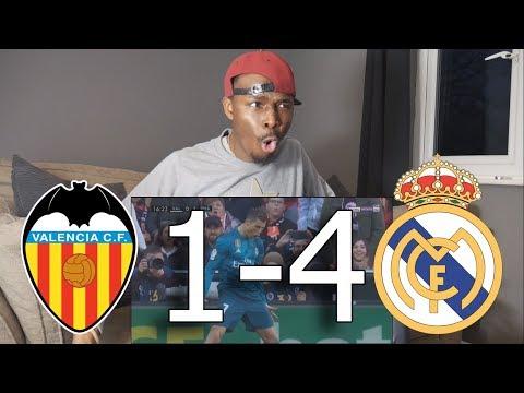 Barcelona Fan React To ● Valencia vs Real Madrid 1-4 ● All Goals