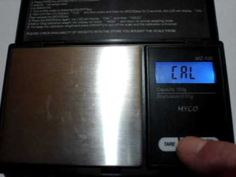 How To Calibrate Digital Pocket Scales WITHOUT a Calibration Weight