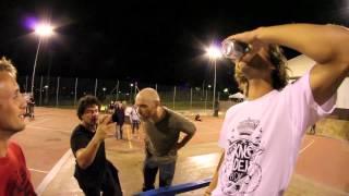 Tricks for beer with Bottelli, Montagner, Munari, Francescato