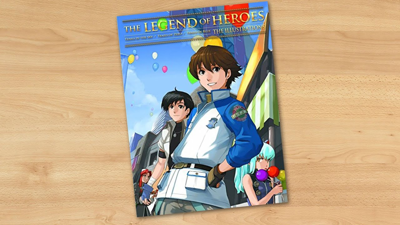 The Legend Of Heroes Illustrations