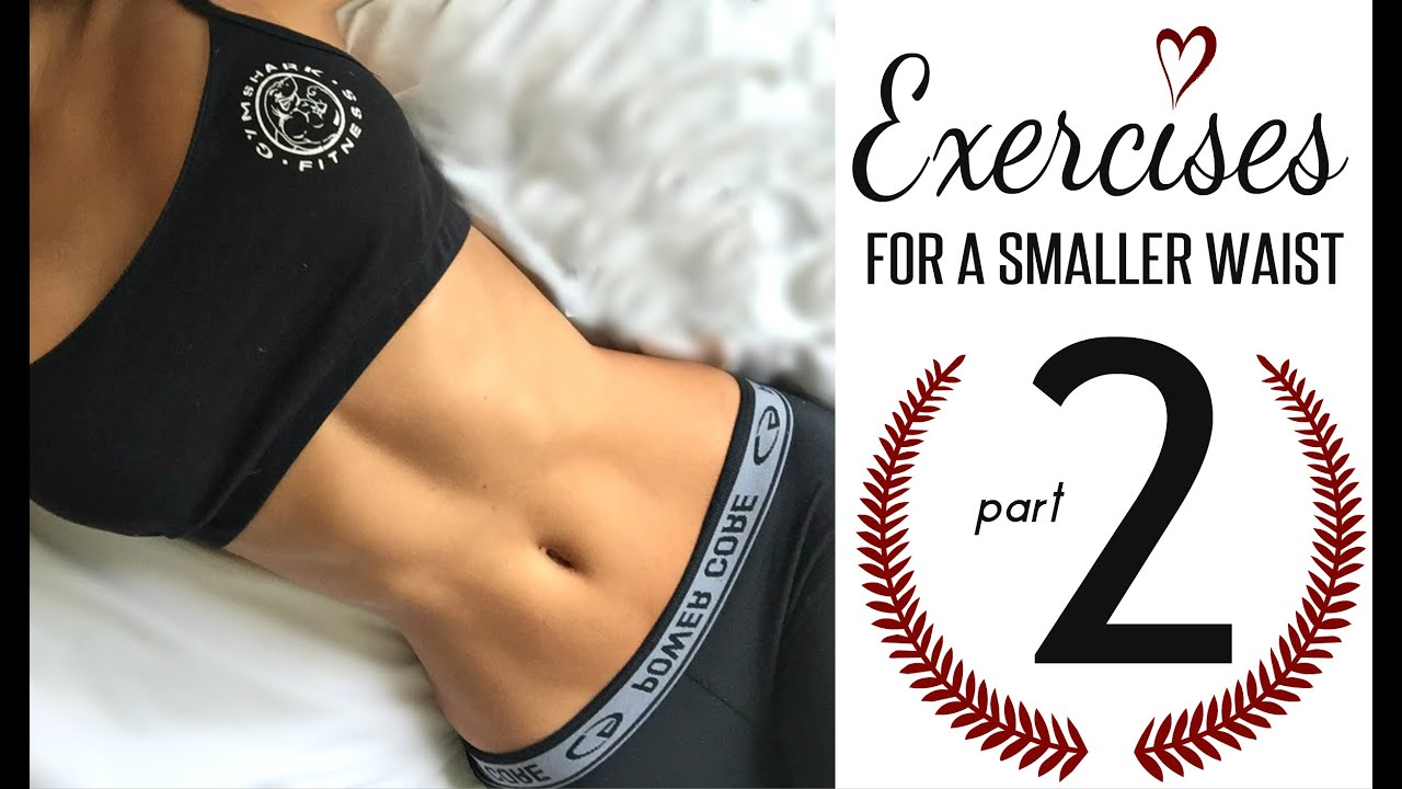 Exercises To Get A Smaller Waist PART 2! By Vicky Justiz