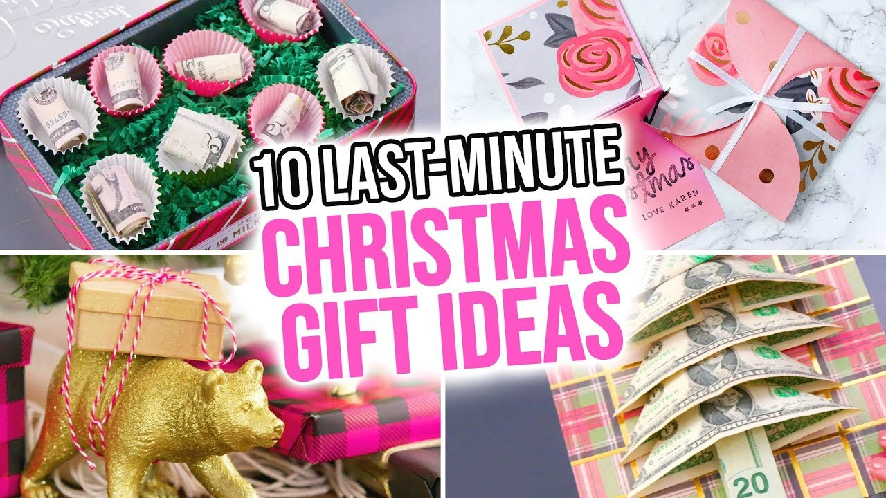 10 Last Minute Diy Christmas Gift Ideas Hgtv Handmade Youtube