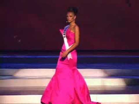 Kosovo - Miss Universe 2008 Presentation - Evening Gown - YouTube