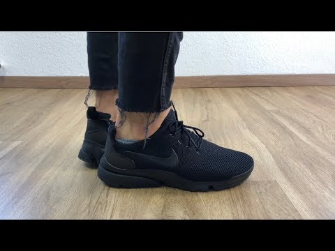 Nike Presto Fly 'All Black' | UNBOXING & ON FEET | fashion shoes | 2018