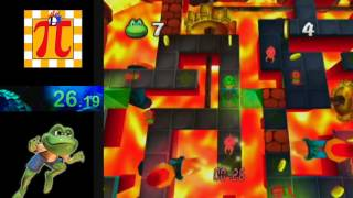 Frogger Beyond (GCN) UnderGround 1 Time Attack in 1:05.13
