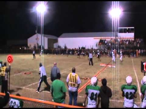 Hunter Smith RB #22 (green) #20 (white) (Cave Springs High School)
