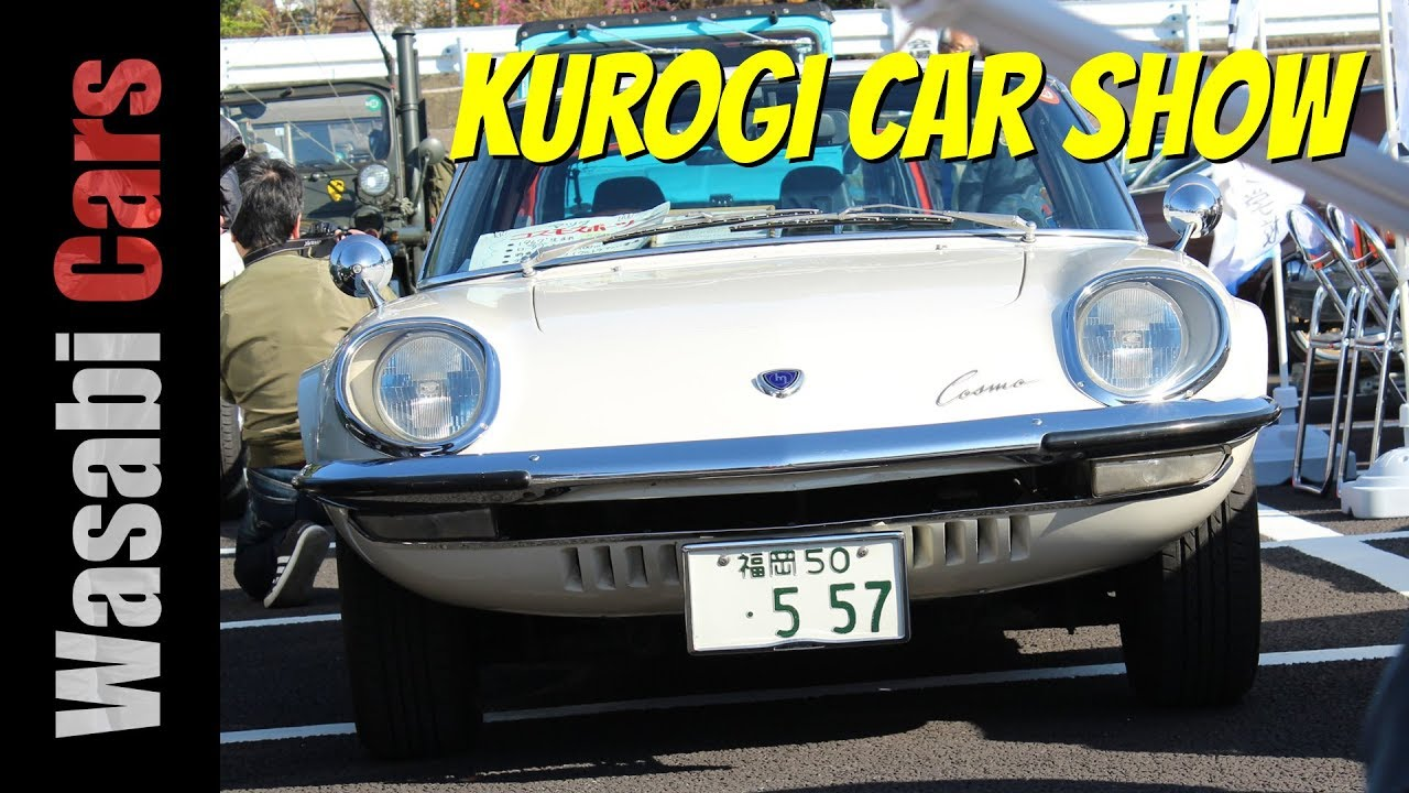 Car Spotting and the 2017 Kurogi Old Car Meeting - YouTube