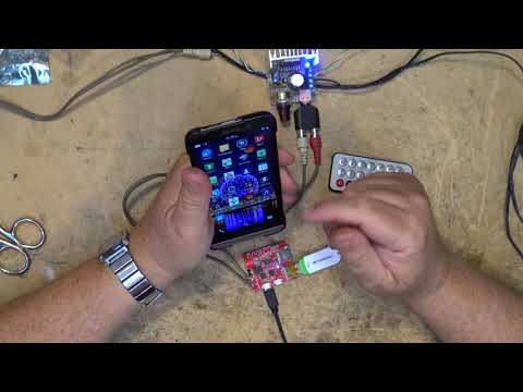 Bluetooth   USB   MicroSD Mp3 player blow up and repair