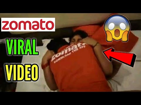 ZOMATO DELIVERY BOY WITH AUNTY VIRAL VIDEO || ZOMATO CONTROVERSY || ZOMATO  VIRAL VIDEO