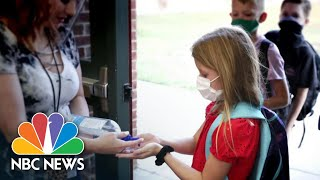 Return To School Raises Concerns Over In-Person Vs Virtual Learning | NBC News