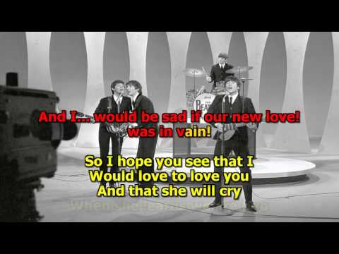 If I Fell (Original) - The Beatles (High Quality)