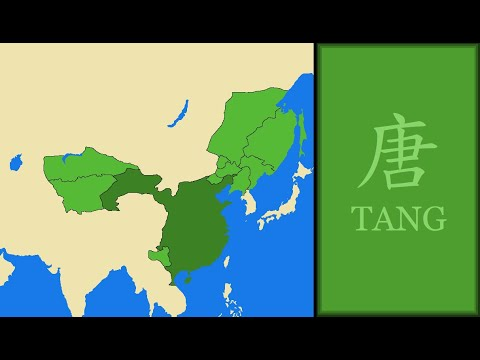 History of Tang Dynasty (China) : Every Year (Not Western Version)
