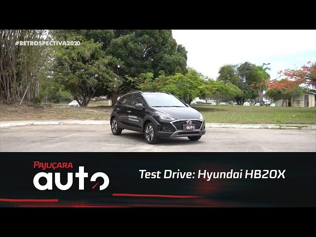 Retrospectiva 2020: Reveja o test drive do Hyundai HB20X