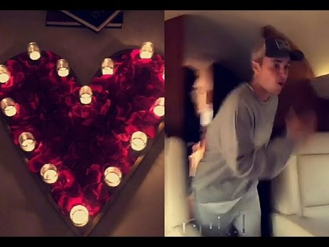 Justin Bieber Give Surprise To Sofia Richie | Sofia Richie Newest Snapchat Video
