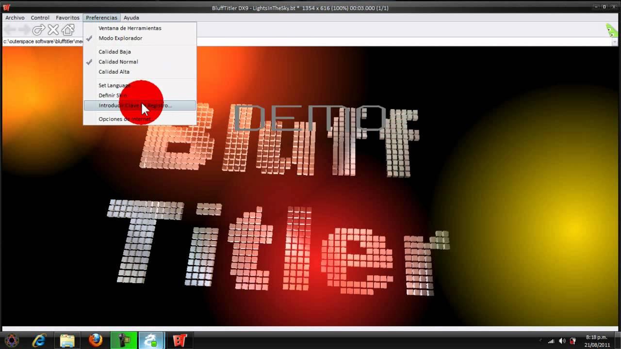 blufftitler dx9 8.2.2 full en espaol