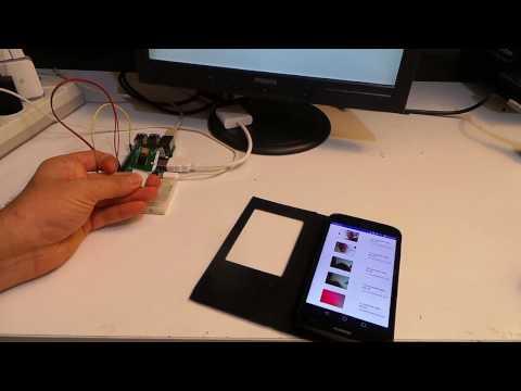 Android Things doorbell (kapı zili) örnek uygulaması