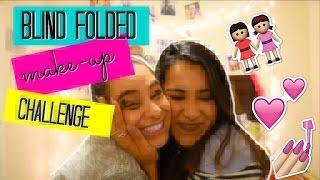 Blind-Fold Make up Challenge! ft Karen !