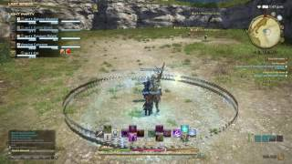 48. FFXIV PS4 Stream - Gathering Silver and Flax zombie style