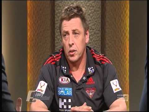 Footy Classified 27 Aug 2013 - Bomber Thompson (Full interview)