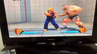 Street fighter 4 all ultras and supers