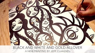 Black, white, and gold...a color combo that NEVER goes out of style...