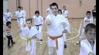 karate klub mačva - trening