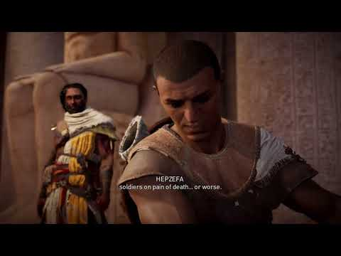 Out into the world   Assassin's Creed Origins NO COMMENTARY Part 1