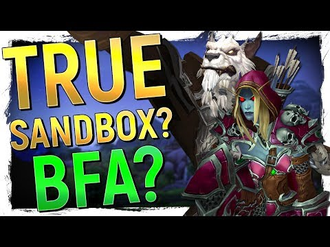 WAR MODE! Bringing Sandbox Gameplay To World of Warcraft?   + New BfA PvP Gear System
