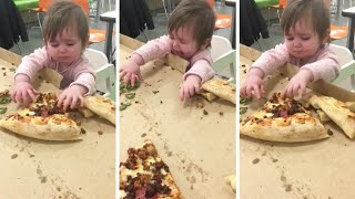 Toddler Proves That Pizza Is Life